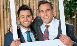 Preview! Neighbours' David and Aaron get hitched!