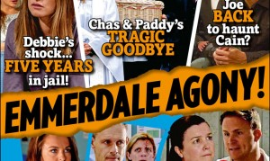 Your new issue of Inside Soap are arrived!